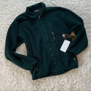 Patagonia Vintage Synchilla Full Zip Fleece Jacket